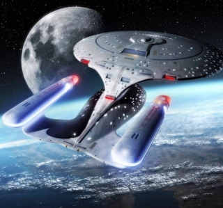 Star Trek Enterprise - Obrázkek zdarma pro iPad