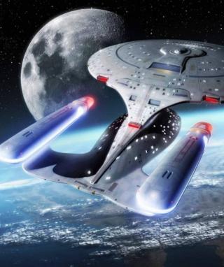 Star Trek Enterprise - Obrázkek zdarma pro Nokia C3-01