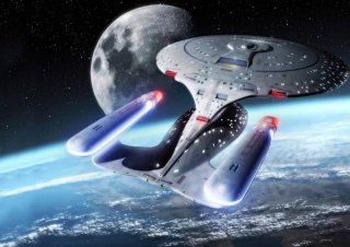 Star Trek Enterprise - Obrázkek zdarma pro Samsung Galaxy Q
