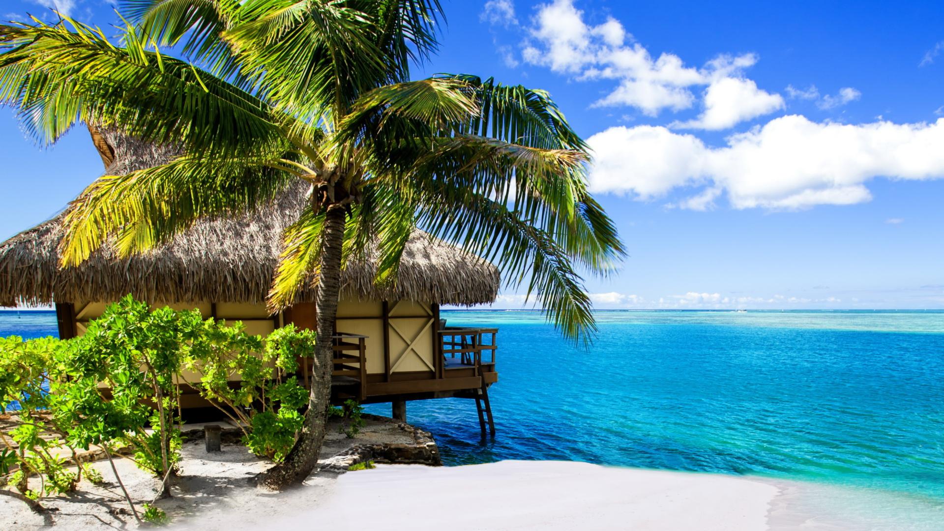 Tropical Paradise Beach Hd Wallpaper For Nexus 7 Screens: Villa Aquamare Wallpaper For Desktop