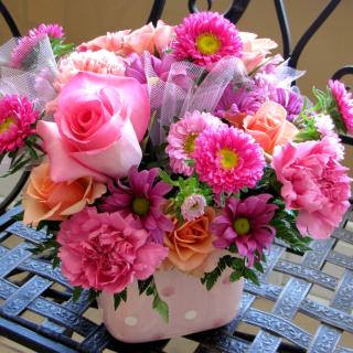 Roses and Carnations - Obrázkek zdarma pro iPad Air