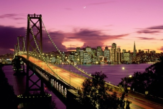 Free Bay Bridge - San Francisco California Picture for Android, iPhone and iPad