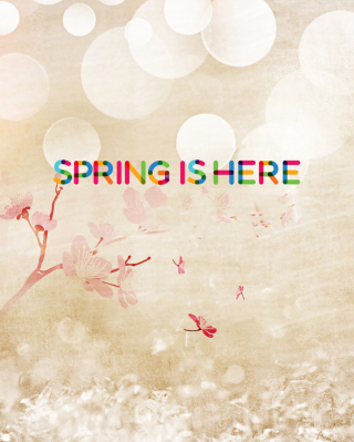 Spring Is Here - Obrázkek zdarma pro Nokia Asha 305