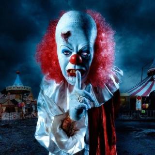 Wicked Clown - Obrázkek zdarma pro 1024x1024