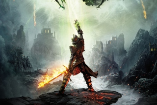 Dragon Age Inquisition 2014 Game - Obrázkek zdarma pro Samsung I9080 Galaxy Grand