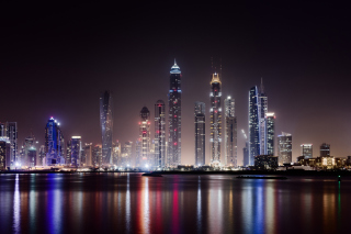 Обои UAE Dubai Photo with Tourist Attractions на Android