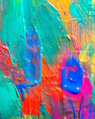 Acrylic Paint - Obrázkek zdarma pro 640x1136