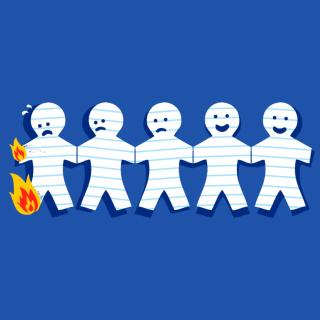 Clipart Funny Facebook - Obrázkek zdarma pro iPad Air