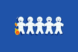 Clipart Funny Facebook - Obrázkek zdarma pro 1680x1050