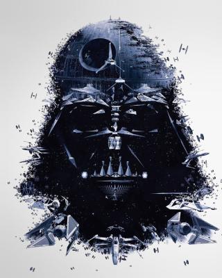 Darth Vader Star Wars - Obrázkek zdarma pro Nokia Asha 303