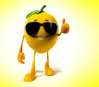 Funny Lemon - Obrázkek zdarma pro iPad Air