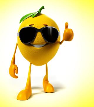 Funny Lemon - Obrázkek zdarma pro iPhone 4S
