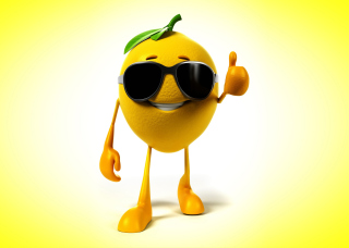 Funny Lemon - Obrázkek zdarma pro 2560x1600