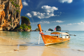 Thai Boat Picture for Android, iPhone and iPad