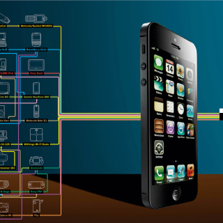 IPhone 5 - Obrázkek zdarma pro 1024x1024
