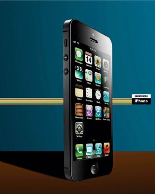 IPhone 5 - Obrázkek zdarma pro Nokia Lumia 900