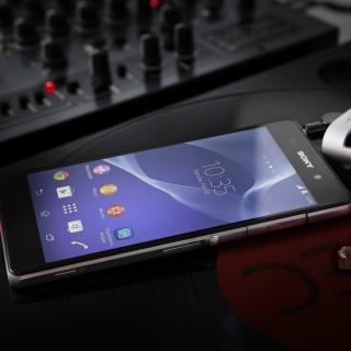 Business Mobile Phone Sony Xperia Z2 - Obrázkek zdarma pro iPad mini 2