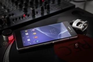 Business Mobile Phone Sony Xperia Z2 - Obrázkek zdarma pro 1280x800