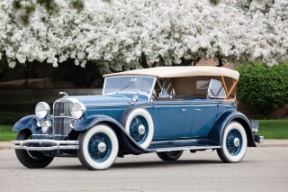 1931 Lincoln Model K Sport Phaeton Background for Android, iPhone and iPad