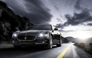 Maserati Quattroporte Sport GT S - Obrázkek zdarma pro Samsung Galaxy S4