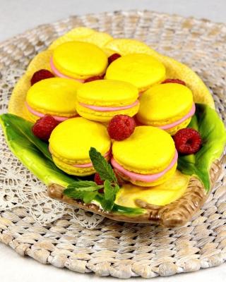 Yellow Macarons - Fondos de pantalla gratis para Samsung S5233T