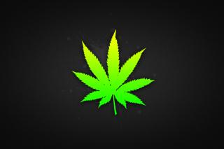 Weed Leaf - Obrázkek zdarma pro 320x240