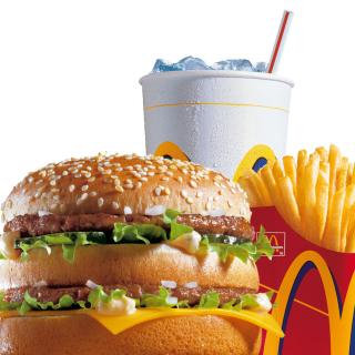 McDonalds: Big Mac - Obrázkek zdarma pro 320x320