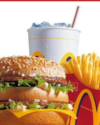 McDonalds: Big Mac - Obrázkek zdarma pro iPhone 3G