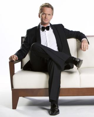 Neil Patrick Harris with Emmy Award - Obrázkek zdarma pro iPhone 4