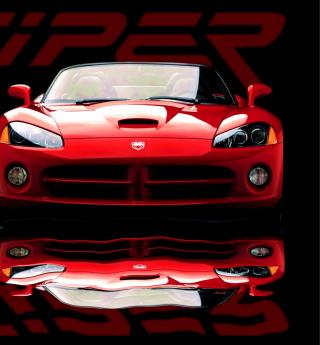 Red Dodge Viper - Obrázkek zdarma pro 2048x2048