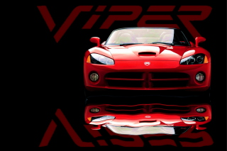 Red Dodge Viper Wallpaper for Android, iPhone and iPad