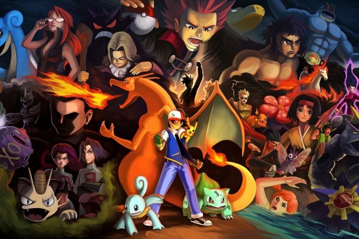 Pokemon GO Charmander vs Squirtle wallpaper