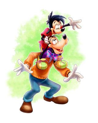 Goofy - Obrázkek zdarma pro 128x160