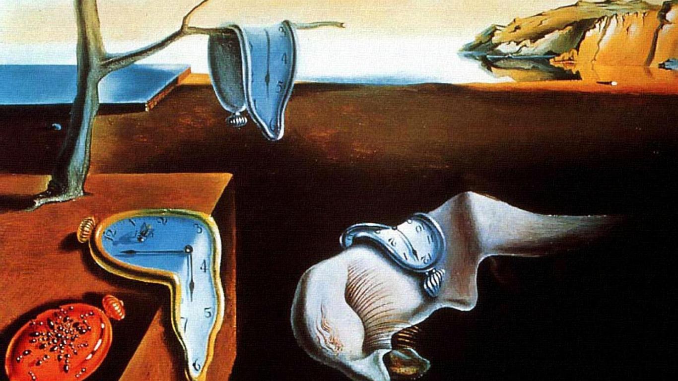salvador dali the persistence of memory surrealism