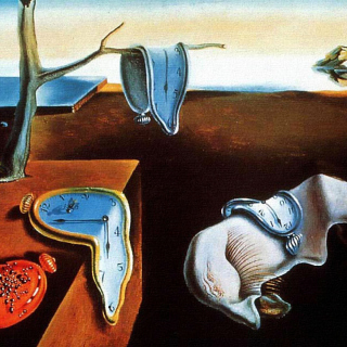 Salvador Dali The Persistence of Memory, Surrealism - Obrázkek zdarma pro 1024x1024