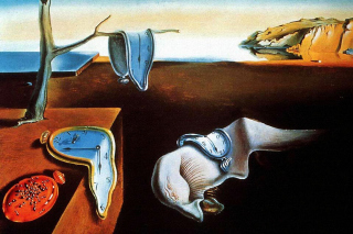 Salvador Dali The Persistence of Memory, Surrealism - Obrázkek zdarma pro LG P500 Optimus One