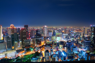 Osaka Japan Background for Android, iPhone and iPad