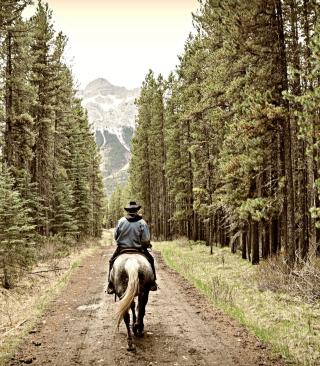 Horse Rider - Obrázkek zdarma pro Nokia X7