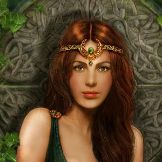 Celtic Princess - Obrázkek zdarma pro iPad
