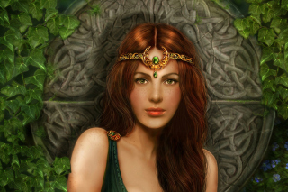 Celtic Princess - Obrázkek zdarma pro Motorola DROID 3