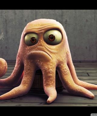 Angry Octopus - Obrázkek zdarma pro Nokia C3-01