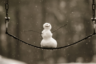 Happy Snowman - Obrázkek zdarma pro Samsung Galaxy Tab 7.7 LTE