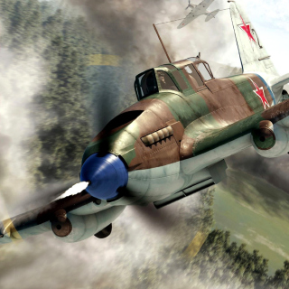 Il 2 Shturmovik Ground Attack Aircraft - Obrázkek zdarma pro iPad 2