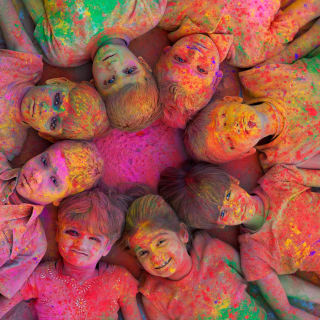 Kids Having Fun - Obrázkek zdarma pro 208x208