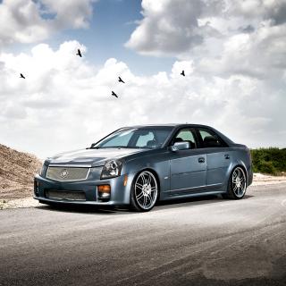 Cadillac CTS-V Test Drive - Obrázkek zdarma pro iPad 3