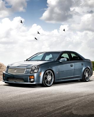 Cadillac CTS-V Test Drive - Obrázkek zdarma pro 480x640