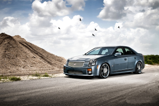 Cadillac CTS-V Test Drive - Obrázkek zdarma pro Nokia Asha 201