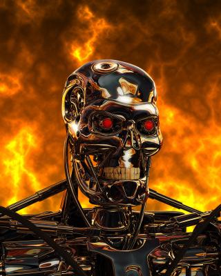Cyborg Terminator - Obrázkek zdarma pro Nokia 206 Asha