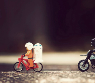 Lego Riders - Obrázkek zdarma pro iPad 3