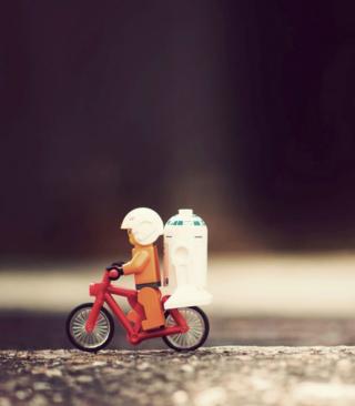 Lego Riders - Obrázkek zdarma pro Nokia Asha 305